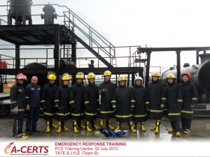 Tate & Lyle, Team B - Emergency Response Training - 02 July 2012