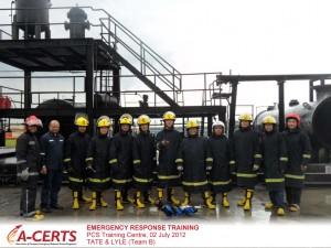 Tate & Lyle, Team B - Emergency Response Training - 02 July 2012