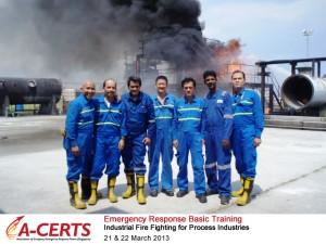 21 & 22 Mar 2013 - Emergency Response Basic Training