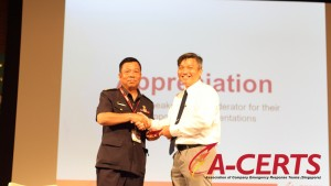 21 Appreciation to Moderator - MAJ Azami Adam