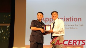22 Appreciation to Speaker - COL (Dr.) Ng Yih Yng