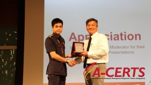 23 Appreciation to Speaker - CPT Chu Yiu Tak