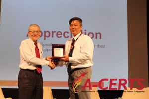 24 Appreciation to Speaker - Dr. Phua Tan Tee