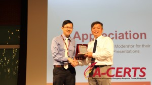 27 Appreciation to Speaker - Mr. Jovin Teo
