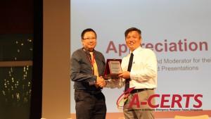 29 Appreciation to Speaker - Mr. Seah Thian Pau