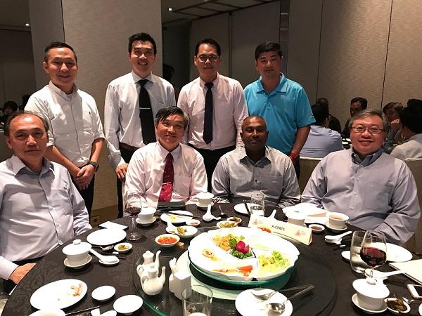 FISAC gala dinner group photo