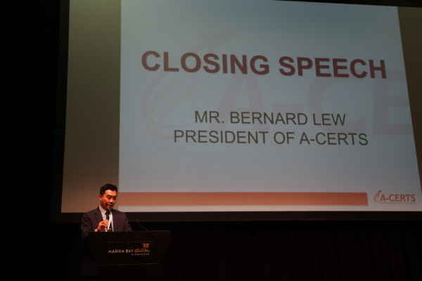 Closing Speech by President